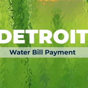 Detroit Water Bill Payment FeaturedImage