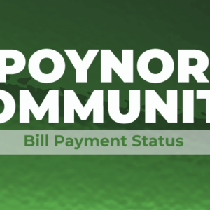 Poynor WSC Payment Status Featuredimage